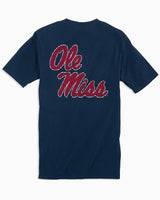 Ole Miss Rebels Skipjack Short Sleeve T-Shirt