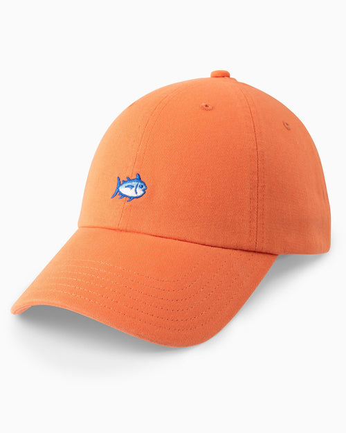 The front of the Skipjack Hat by Southern Tide