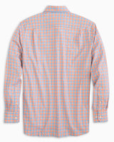 The folded view of the Men's Skipjack Multicheck Button Down Shirt by Southern Tide