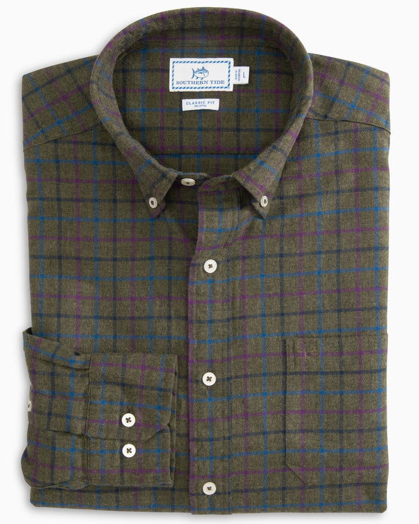 Skysail Plaid Sport Shirt