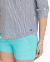 Samantha Embroidered Popover Shirt | Southern Tide