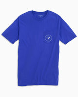 SMU Mustangs Circle Short Sleeve T-Shirt | Southern Tide