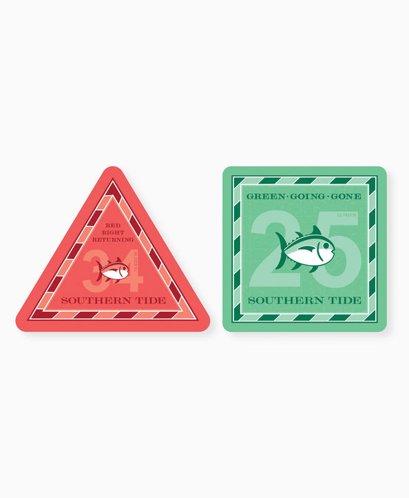 2-Pack Channel Marker Stickers