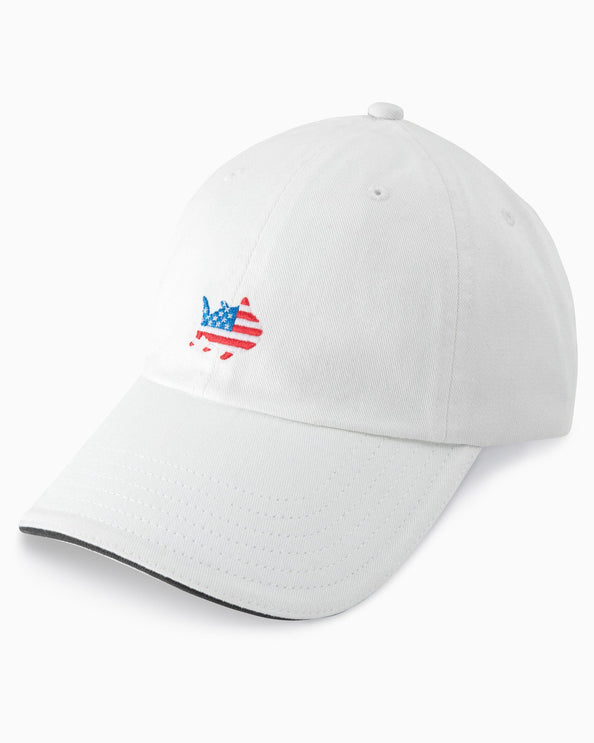 Image of American Flag Skipjack Hat