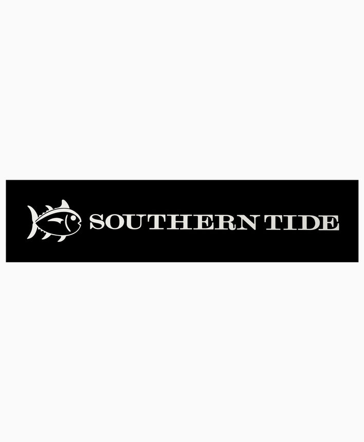 Southern Tide Vinyl Car Decal - White