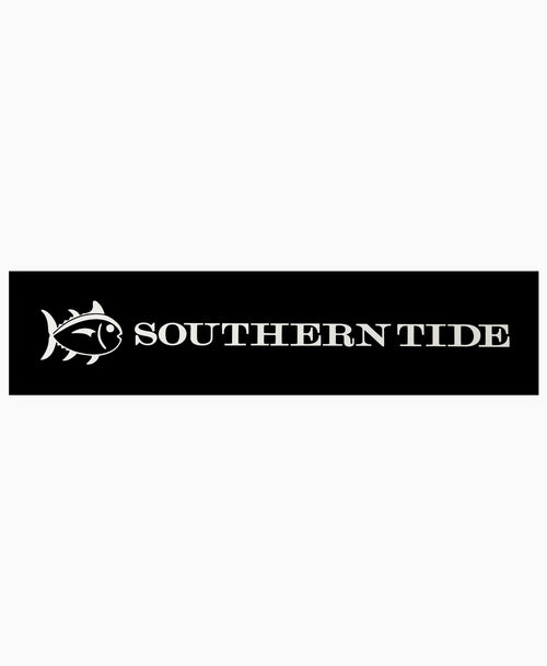 Southern Tide Vinyl Car Decal - White | Southern Tide