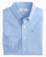 Boys Micro Gingham Button Down Shirt | Southern Tide