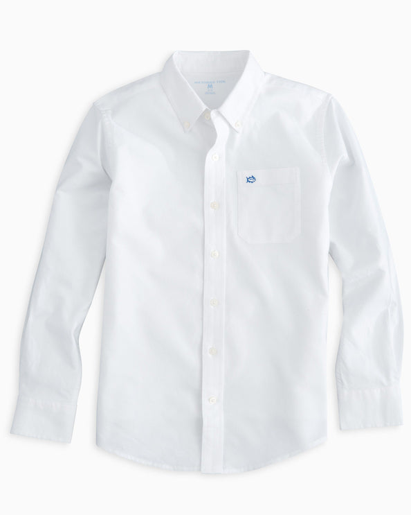 Boys Oxford Button Down Shirt
