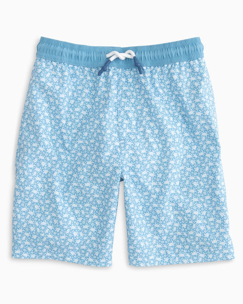 Boys Sea Turtles Swim Trunk | Southern Tide