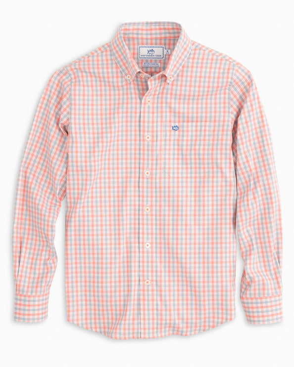 Boys Seaward Intercoastal Plaid Shirt