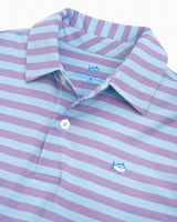 Boys Sonar Performance Striped Polo Shirt | Southern Tide