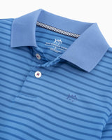 Boys Summertide Performance Striped Polo Shirt | Southern Tide