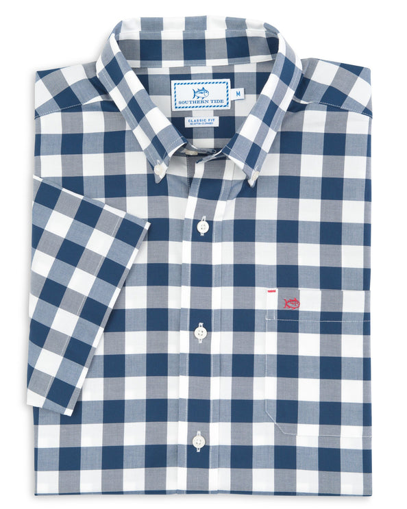 Image of Buffalo Check Short Sleeve Sport Shirt