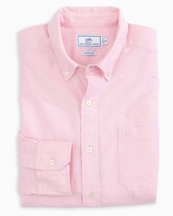 Channel Marker Oxford Button Down Shirt