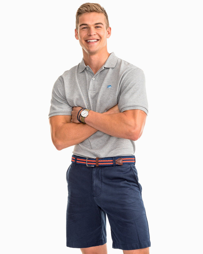 Skipjack Heathered Polo Shirt