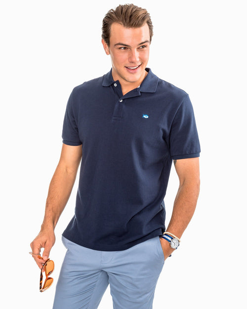 Skipjack Pique Polo Shirt | Southern Tide