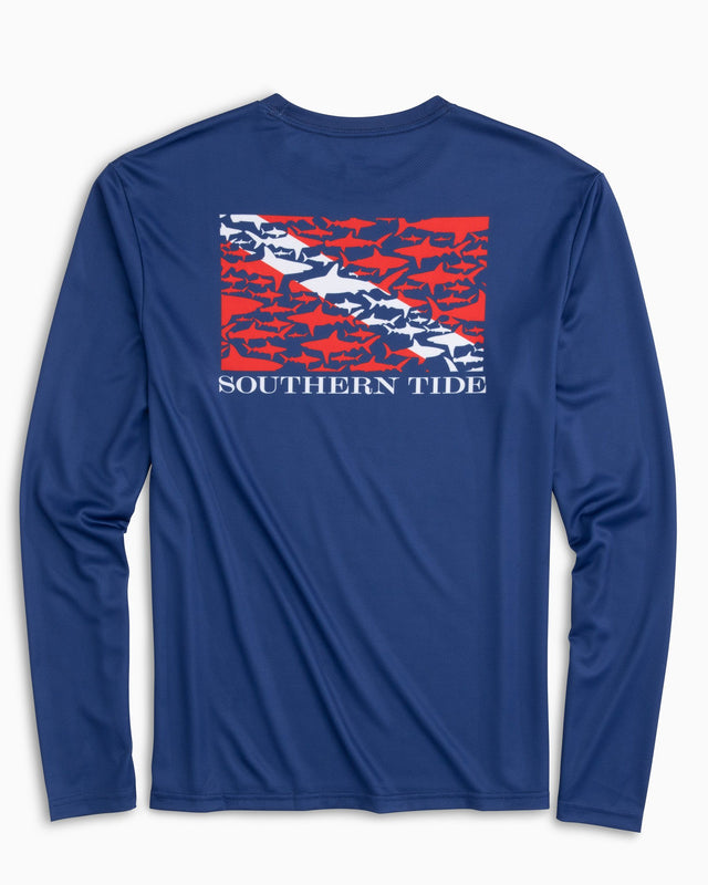 Dive If You Dare Long Sleeve Performance T-shirt