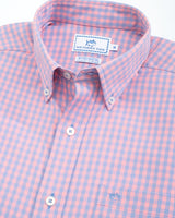 Dunecrest Gingham Intercoastal Performance Sport Shirt | Southern Tide