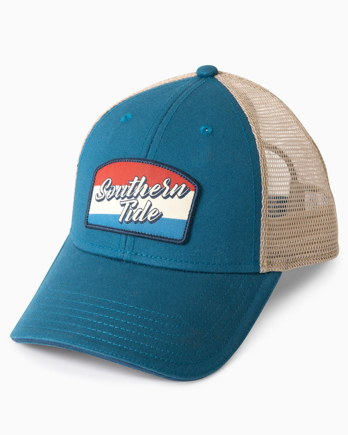 Flag Patch Trucker Hat
