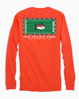 Gameday Football Stadium Long Sleeve T-shirt - Auburn University | Southern Tide