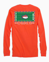 Clemson Tigers Stadium Long Sleeve T-Shirt | Southern Tide