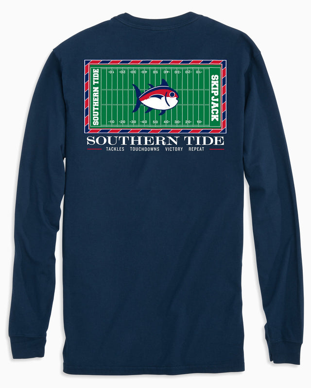 Gameday Football Stadium Long Sleeve T-shirt - University of Mississippi | Southern Tide