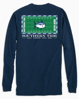 UNC Tarheels Stadium Long Sleeve T-Shirt | Southern Tide