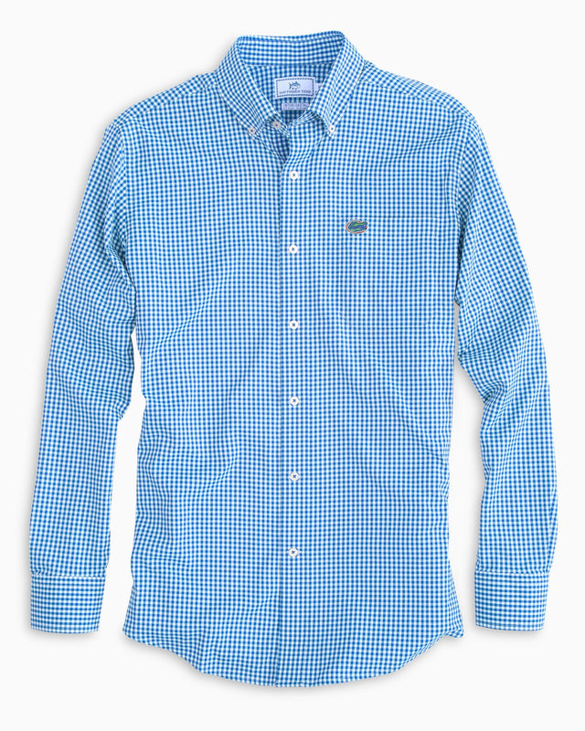 Gameday Gingham Intercoastal Performance Shirt - University of Florida | Southern Tide