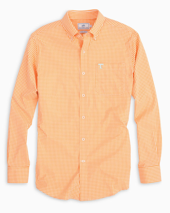 Tennessee Vols Gingham Shirt