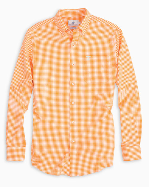 Tennessee Vols Gingham Button Down Shirt | Southern Tide