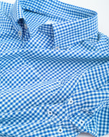 Gameday Gingham Intercoastal Performance Shirt - West Virginia University | Southern Tide