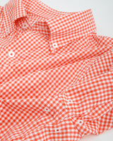 Retro Clemson Tigers Gingham Button Down Shirt | Southern Tide