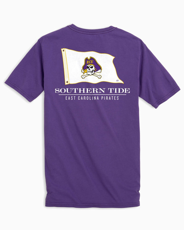 East Carolina Flag Short Sleeve T-Shirt