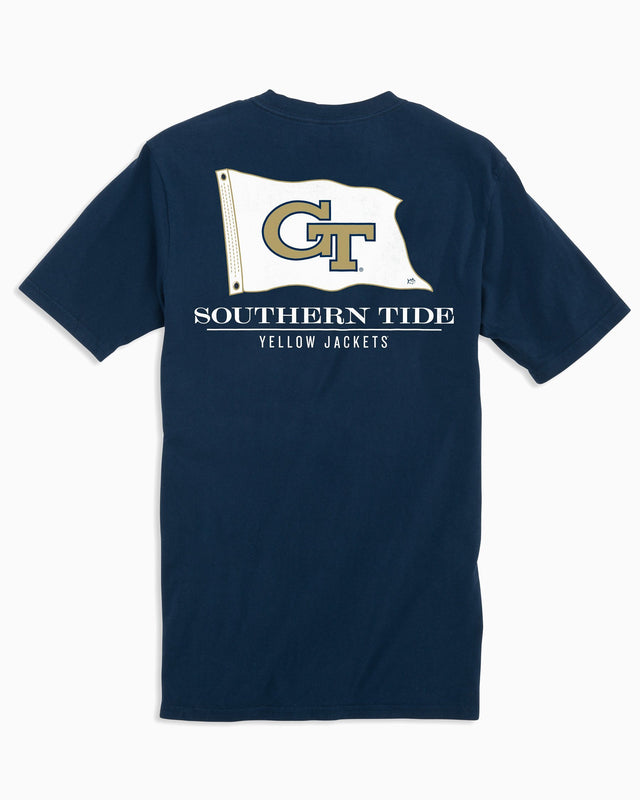 Georgia Tech Flag Short Sleeve T-Shirt | Southern Tide