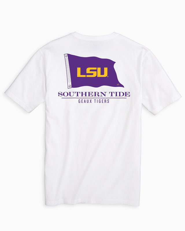 Gameday Nautical Flags T-shirt - Louisiana State University | Southern Tide