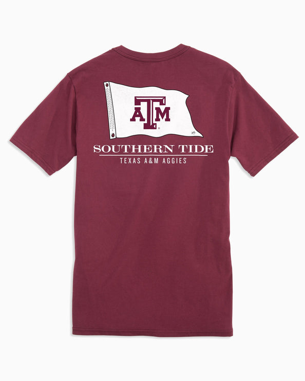 97190fcbc75 Texas A M Aggies Flag Short Sleeve T-Shirt
