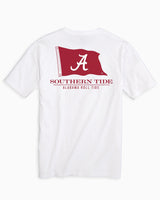 Alabama Crimson Tide Flag Short Sleeve T-Shirt