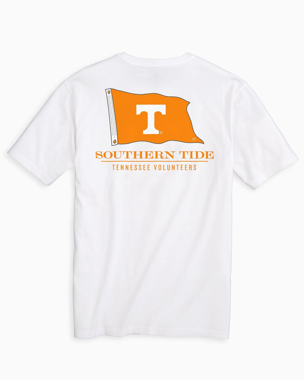 Tennessee Vols Flag Short Sleeve T-Shirt