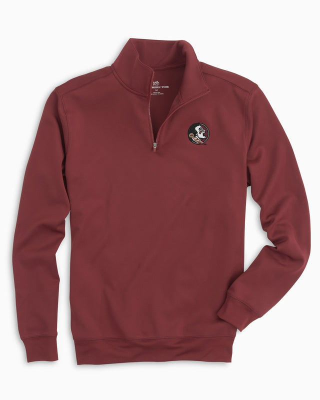 Gameday Performance 1/4 Zip Pullover - Florida State University | Southern Tide