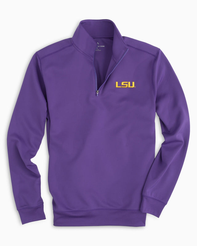 Gameday Performance 1/4 Zip Pullover - Louisiana State University | Southern Tide