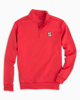 Gameday Performance 1/4 Zip Pullover - North Carolina State University | Southern Tide