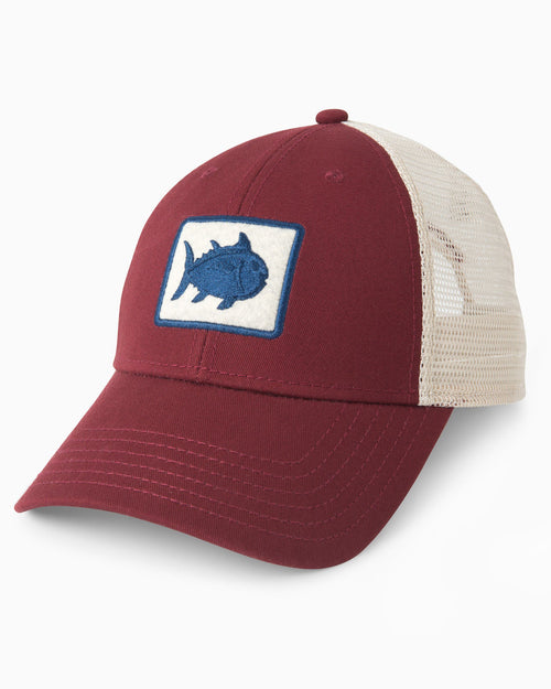 Gameday Skipjack Fly Patch Trucker Hat | Southern Tide