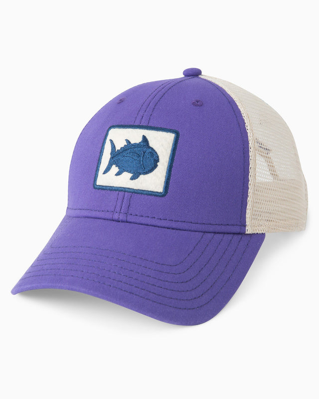 5361d576e3b Gameday Skipjack Fly Patch Trucker Hat | Southern Tide