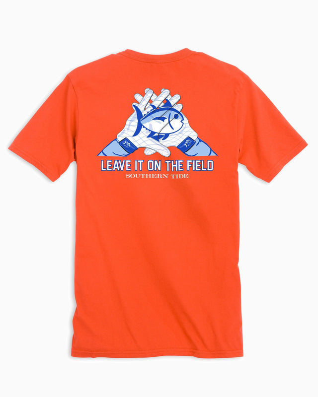 Clemson Tigers Gloves Short Sleeve T-Shirt | Southern Tide