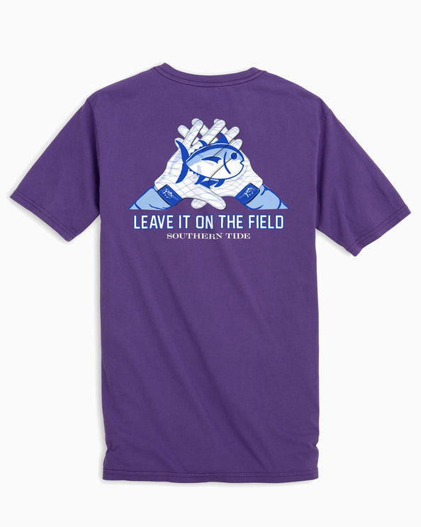 LSU Tigers Gloves Short Sleeve T-Shirt
