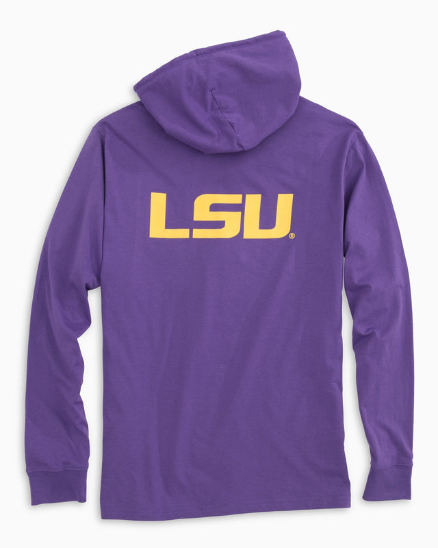 Gameday Skipjack Hoodie T-shirt - Louisiana State University | Southern Tide