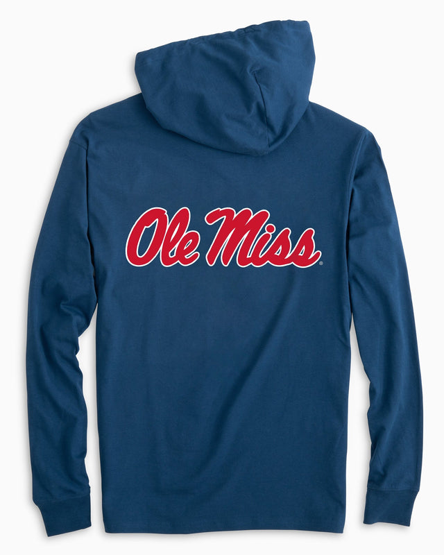 Gameday Skipjack Hoodie T-shirt - University of Mississippi | Southern Tide
