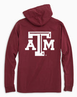 Gameday Skipjack Hoodie T-shirt - Texas A&M University | Southern Tide