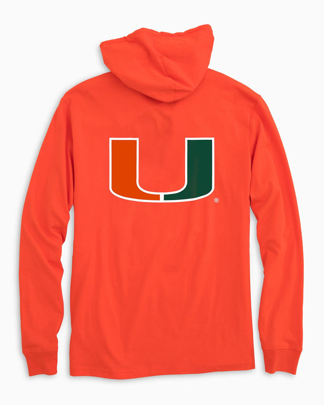 Gameday Skipjack Hoodie T-shirt - University of Miami | Southern Tide
