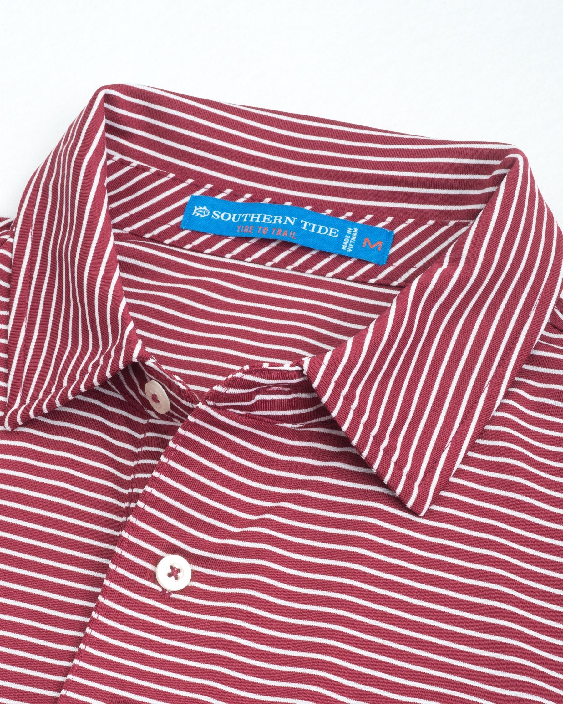 dccb8ab10d135 College of Charleston Striped Polo Shirt | Southern Tide